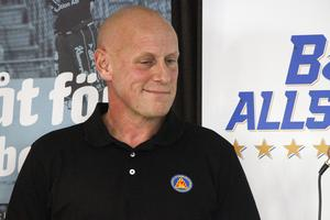 LAIK:s tränare Fredrik Sixtensson.