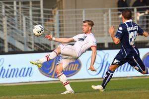I Carpi gjorde han sina första Serie A-matcher. I höst är det Parmas traditionstyngda tröja Riccrado Gagliolo bär. Foto: Gazzetta di Modena