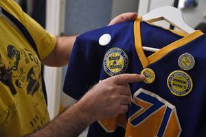 Barota blev HV-supporter i slutet på 70-talet. Han har fortfarande kvar en tröja från sina tidiga år som supporter.