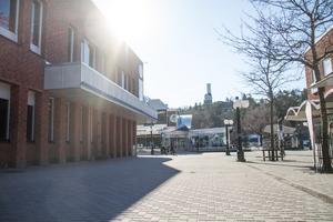 Sara Granrud har lämnat in ett E-förslag om att göra om torget mellan Handelsbanken och Apoteket i Söderhamn till mötesplats och en aktivitetspark.