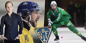 Christoffer Fagerström har skrivit ettårskontrakt med Bollnäs. Bild: TT