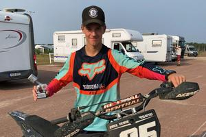 Emil Vedin från Hogdal MK tog en andraplats i U-17, i Biketown cup i Mora i helgen.