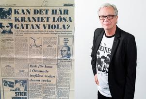 Christer Jonasson har samlat utklipp från fallet Viola och gjorde själv en dokumentär om fallet för 30 år sedan.