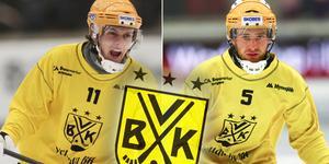 Pontus Vilén och Pontus Blomberg – slagkraftig mittfältsduo som ska hitta rätt balans tillsammans. BILD: Andreas Tagg/Rikard Bäckman