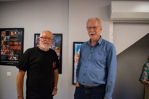 Yngve Mauritsson och Per Målare var mycket glada över att intresset för nypremiären var så stort.