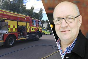 Ulf Berg och Moderaterna vill se ökade satsningar på brandstationen i Horndal. I nuläget menar partiet att det finns alldeles för lite resurser i nuläget.