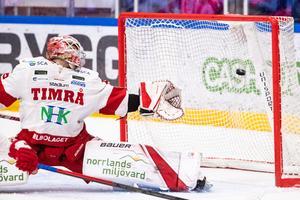 Niklas Svedberg släppte några kassar men var ändå riktigt bra. Foto: Daniel Eriksson / BILDBYRÅN