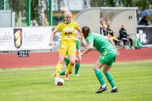 Johanna Forsberg har visat att hon kan spela på flera positioner under våren.