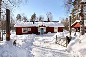 Denna villa i Dalvik, Smedjebackens kommun, var det sjunde mest klickade huset i Dalarna under vecka 12. Foto: Thomas Granath