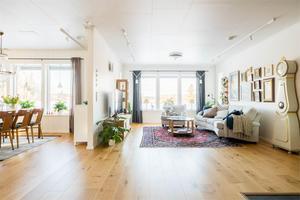 Villan har en boyta på 137 kvadratmeter.Bild: Fastighetsbyrån