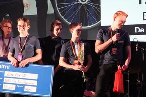 Bike Lock UF från De La Garideskolan tog hem segern i kategorin Årets innovation.