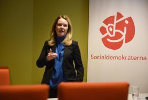 Landsbygdsminister Jennie Nilsson (S) är regeringens ansvariga för jakt- och landsbygdspolitik.