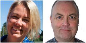 Om allt går som planerat tar centerpartisterna Linda Chalkias och Bengt Tandberg över varsin kommundelsnämnd på nyårsdagen.