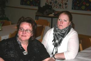 Färska  medlemmar i företagarföreningen är Gihja Fjällberbg och Kajsa Benett, relativt nyblivna restaurangägare i Harmånger