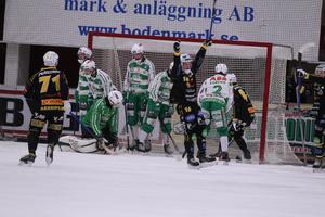 Jonas Nygren var en av Brobergs målskyttar mot VSK