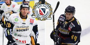 Markus Persson och Kasper Lindqvist fortsätter i Borlänge. Foto: Peter Axman och Rickard Pettersson