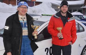 Stig Andervang, med kartläsande Pontus Eriksson, segrade i 4wd-klassen i Skutskärsratten. FOTO: KURT ELIASSON
