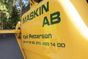Kjell Pettersson har varit egenföretagare sedan 1964. Hans första företag hette Traktortransport.