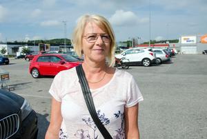 Ann-Cathrin Wahrenby, 57, undersköterska, Kramfors.