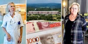 Specialistsjukvården i Region Västernorrland har extremt stora ekonomiska problem. Ekonomin befinner sig i ett fritt fall på grund av höga kostnader för stafettpersonal och regionsjukvård.