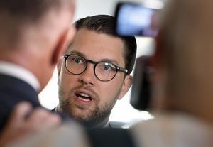 Jimmie Åkesson (SD), partiledare.