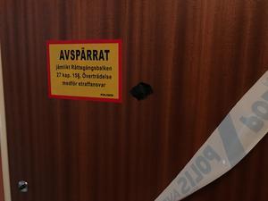 Lägenheten där det misstänkta mordet ska ha skett ligger i Hofors.