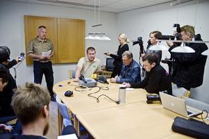 Presskonferens på Kolmården.  Foto: Henrik Witt / NTB scanpix
