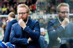 Fredrik Söderström, huvudtränare i Storhamar. Foto: Fredrik Varfjell/Bildbyrån