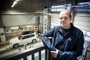 Mikael Gustavsson, Stationschef på Bilprovningen i Östersund.