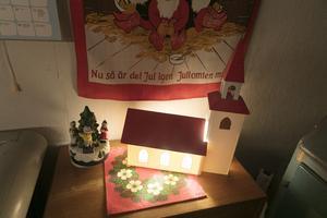 Ljuskyrkan är köpt på en auktion och ett måste till julen.