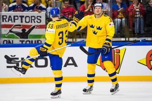 Jacob de la Rose låg bakom Sveriges viktiga 1–0-mål. Foto: Petter Arvidson / Bildbyrån