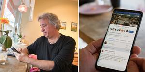 Ulf Larsson flyttade till Rimbo år 1991 och för fem år sedan startade han Facebook-gruppen Rimbo i vårt hjärta!. Idag har den över femtusen medlemmar.