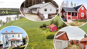 Här är några av de hus i Dalarna som var mest klickade på bostadssajten Hemnet under förra veckan.