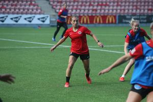 Heather Williams är Kif Örebros bästa målskytt efter elva spelade omgångar.