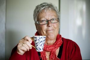Sylvi Källström, fyller 70 år och har då öppet hus på Brunnskyrkans festvåning.