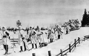 Finska soldater under vinterkriget. Foto: Scanpix