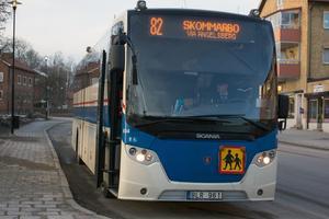 Nu stannar Buss 82 i Virsbo från och med den 16:e december.
