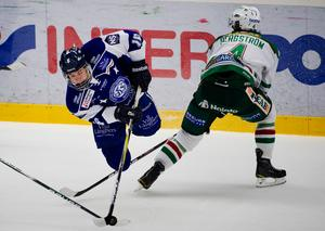 Filip Forsberg under en match mot Rögle, år 2011, under premiären av hockeyallsvenskan.Bild: Nils Jakobsson/Bildbyrån