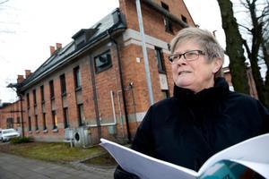 Ingrid var med och gjorde en plan över Kopparlunden redan på 90-talet. Nu har ett nytt planprogram för Kopparlunden tagits fram och även denna gång var Ingrid med .