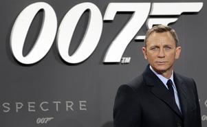 Daniel Craig är den nuvarande James Bond. Foto: Michael Sohn/TT