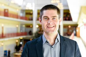 Andreas K Johansson, gymnasiechef i Örnsköldsviks kommun.