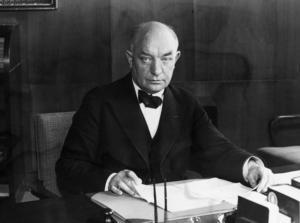 Per Albin Hansson (S), Sveriges statsminister 1932–1946. Foto: TT