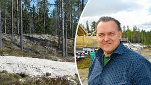 Torbjörn Wallin, VD för Himmelfjäll. Bilden är ett montage.