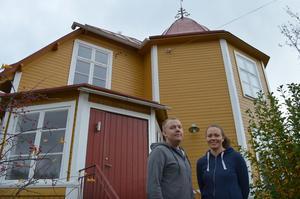Björn och Emma Forsman har köpt Strålin & Perssons före detta lokaler i Korsnäs. Genom fastighetsköpet blev deras företag bland annat ägare till den