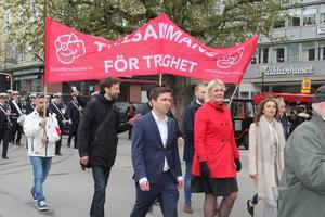 Mindre folk i rörelse hos Socialdemokraterna.Foto: VLT:s arkiv