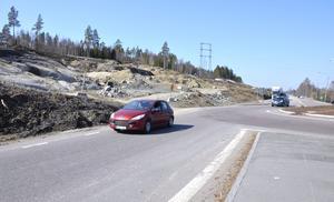 Under torsdagen börjar Trafikverket att spränga bort berg på E14.
