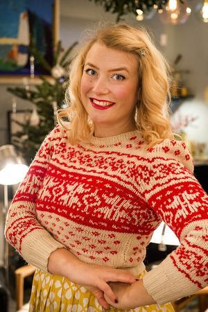 Bloggaren och programledaren Elsa Billgren har namnsdag. Foto: TT