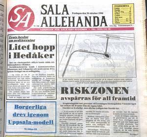 Den 26 oktober 1990 gick det att i SA se hur gångarna vid rasplatsen såg ut under jord. Gruvan ville utvidga och bryta under marken där Bryggeriet ligger idag, men sju av de nio tomtägarna sade nej vilket räckte för att avslå gruvans ansökan.