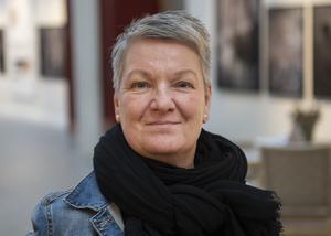 Karin Carlberg, 54 år, receptionist, Sidsjön