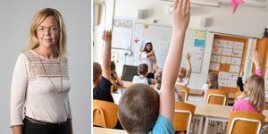Erica Andrén, ordförande för region Värmland-Dalarna i Sveriges Skolledarförbund: